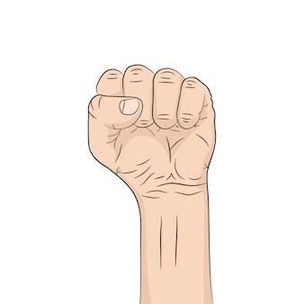 ポップアート拳。図。