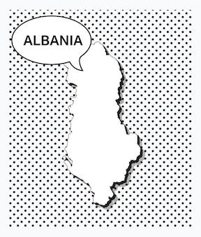알바니아의 팝 아트 지도