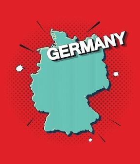 독일의 팝 아트 지도