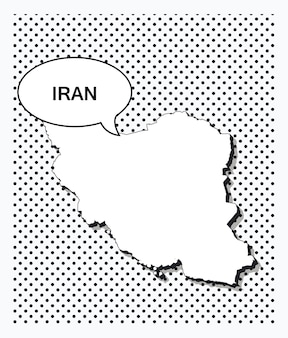 이란의 팝 아트 지도
