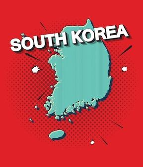 韓国のポップアートマップ