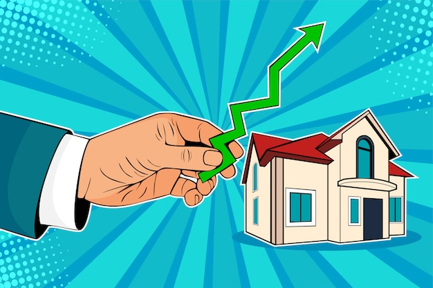 Pop art rising house prices