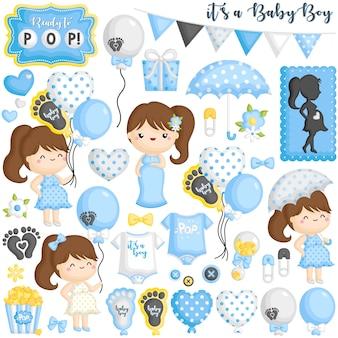 Готовый pop baby boy беременный набор