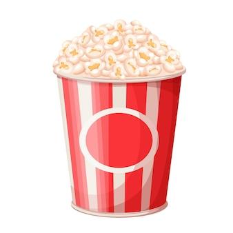 Popcorn bucket illustration