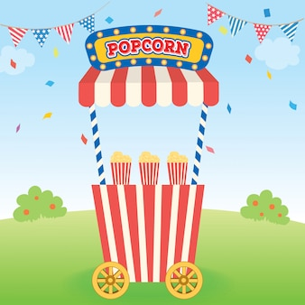 Popcorn cart 2