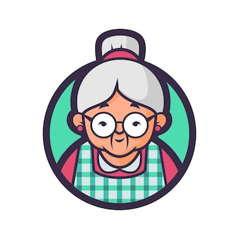 Popo's glasses kitchen badge version