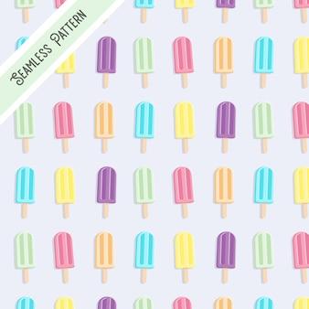 アイスキャンデーのパターン