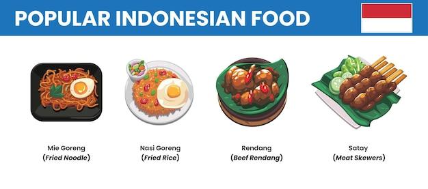 Популярная индонезийская кухня