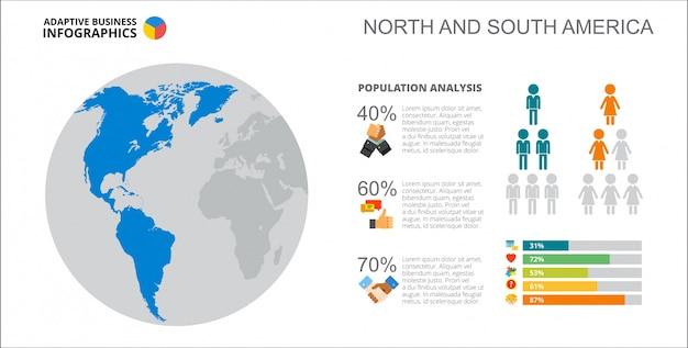 인구 분석 슬라이드 템플릿