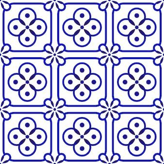 Porcelain ceramic pattern