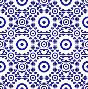 Porcelain chinese pattern seamless