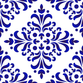 Porcelain decorative pattern