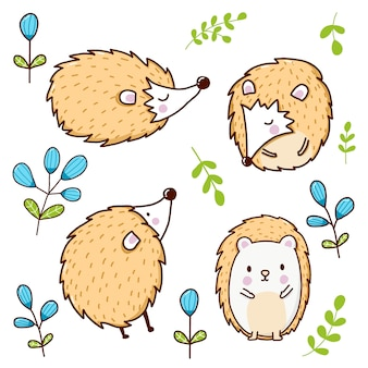 Дикобраз животное мультфильм милый для детей