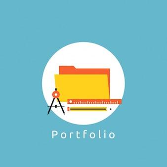 Portfolio background design
