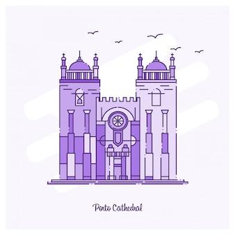 Porto cathedral landmark