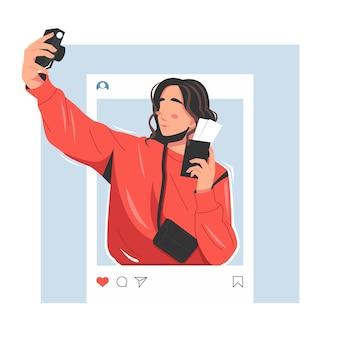 Портрет влиятельного человека векторные иллюстрации