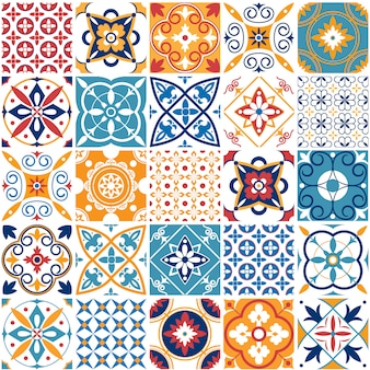 Portugal seamless pattern