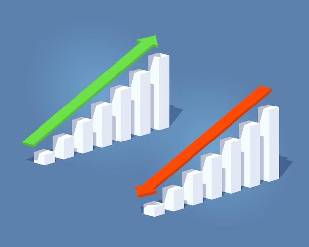 포지티브 및 네거티브 그래프