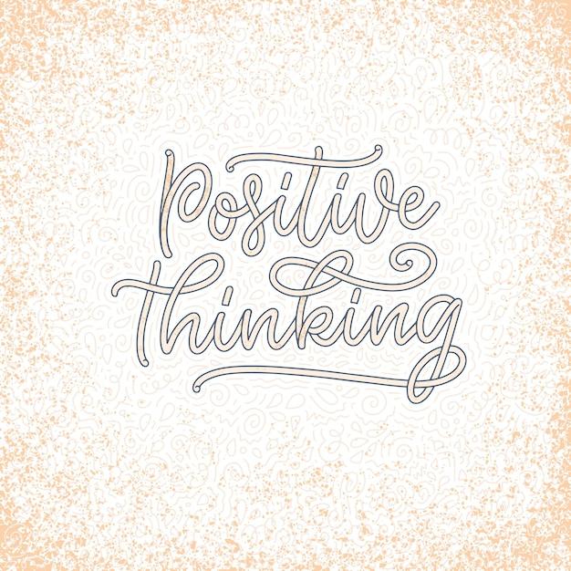 낙서 요소가 포함된 긍정적인 레터링 슬로건 블로그 포스터 및 인쇄 디자인 벡터에 대한 재미있는 인용문