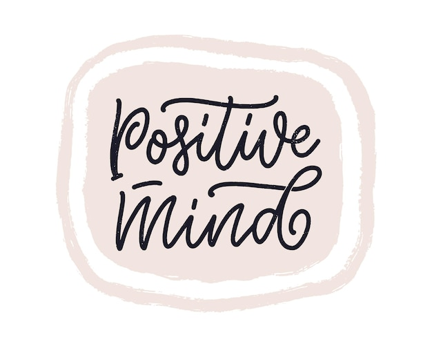 Позитивный слоган надписи с элементами каракули забавная цитата для плаката блога