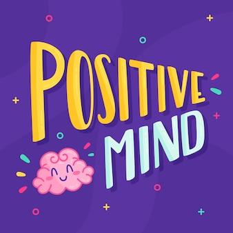 Lettering mentale positivo
