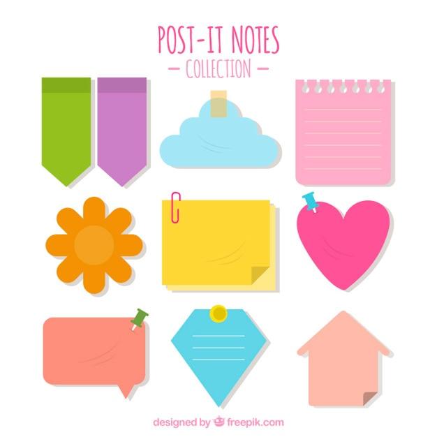 post it notes vectors photos and psd files free download rh freepik com post it note vector free download free vector post it note paper