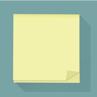 Post memo notepaper icon vector illustration
