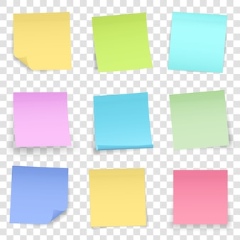 Post note paper sticker pin, adhesive sticky tape.