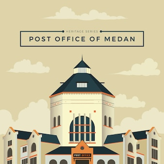 Post office of medan