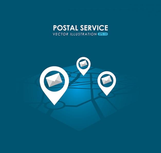 우편 서비스 디자인