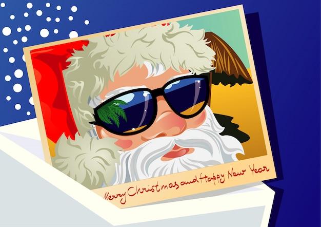 サンタクロースからのポストカード
