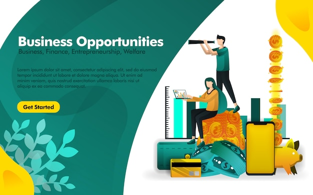 Poster about observant seeing opportunities