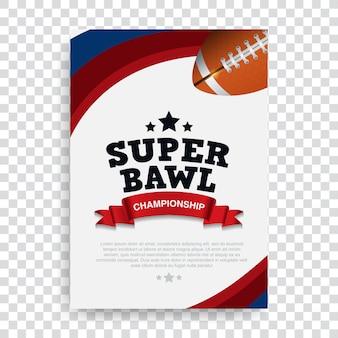 Poster american football