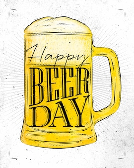 Poster beer day