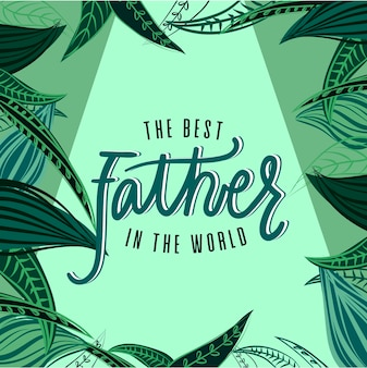 Poster the best father in the world
