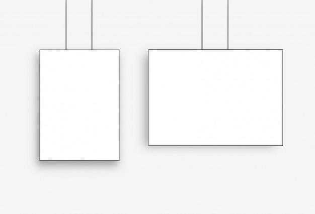 Poster blank frame