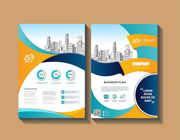 Poster brochure flyer  template  leaflet cover presentation