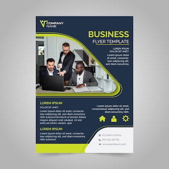 Poster design business template