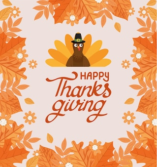 Poster of happy thanksgiving