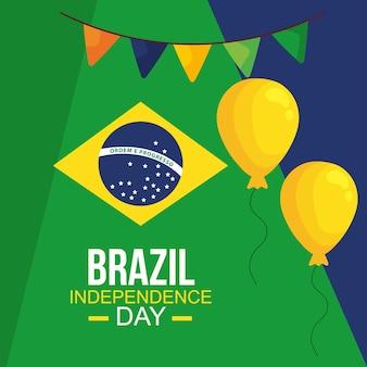 Плакат независимости бразилия