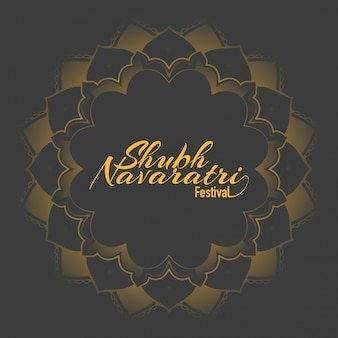 Poster for navaratri festival