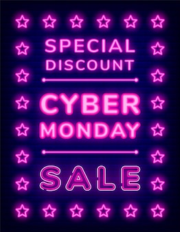 Poster sale banner technology, special discount