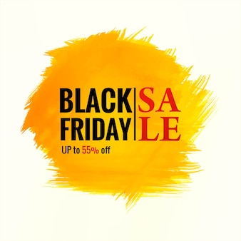 Poster sale of black friday for splash background