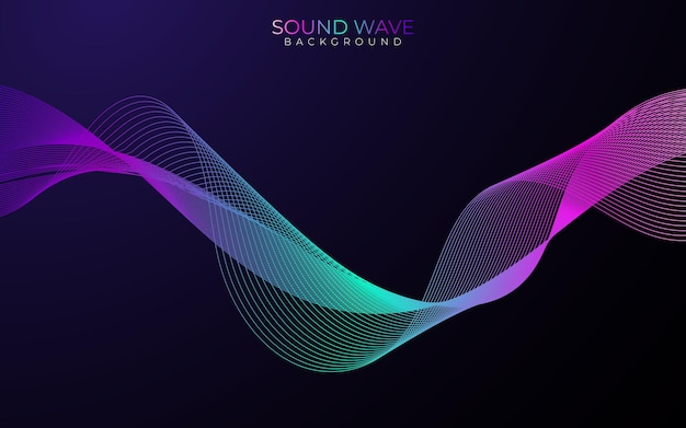 Poster of the sound wave
