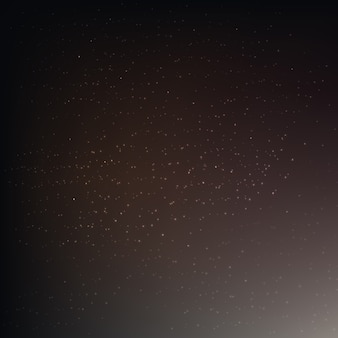 Poster with stars