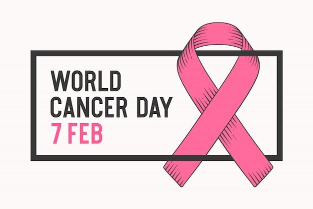 Плакат всемирный день борьбы с раком