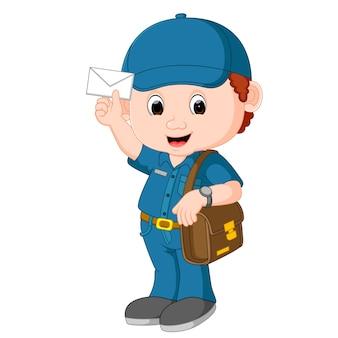 Postman cartoon