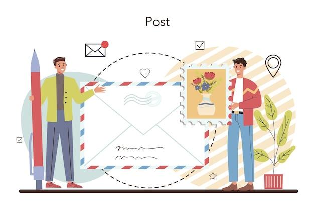 Postman profession
