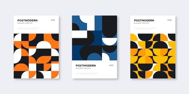 Постмодернистская коллекция обложек для бизнеса