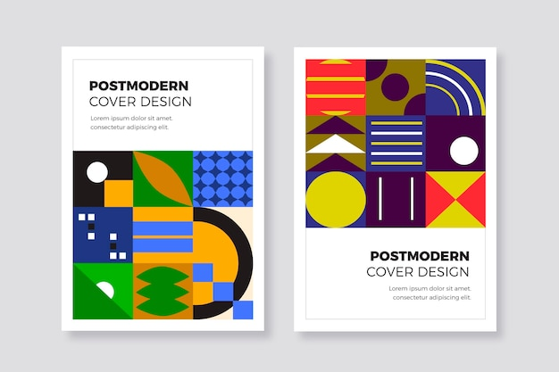 Postmodern business cover collection